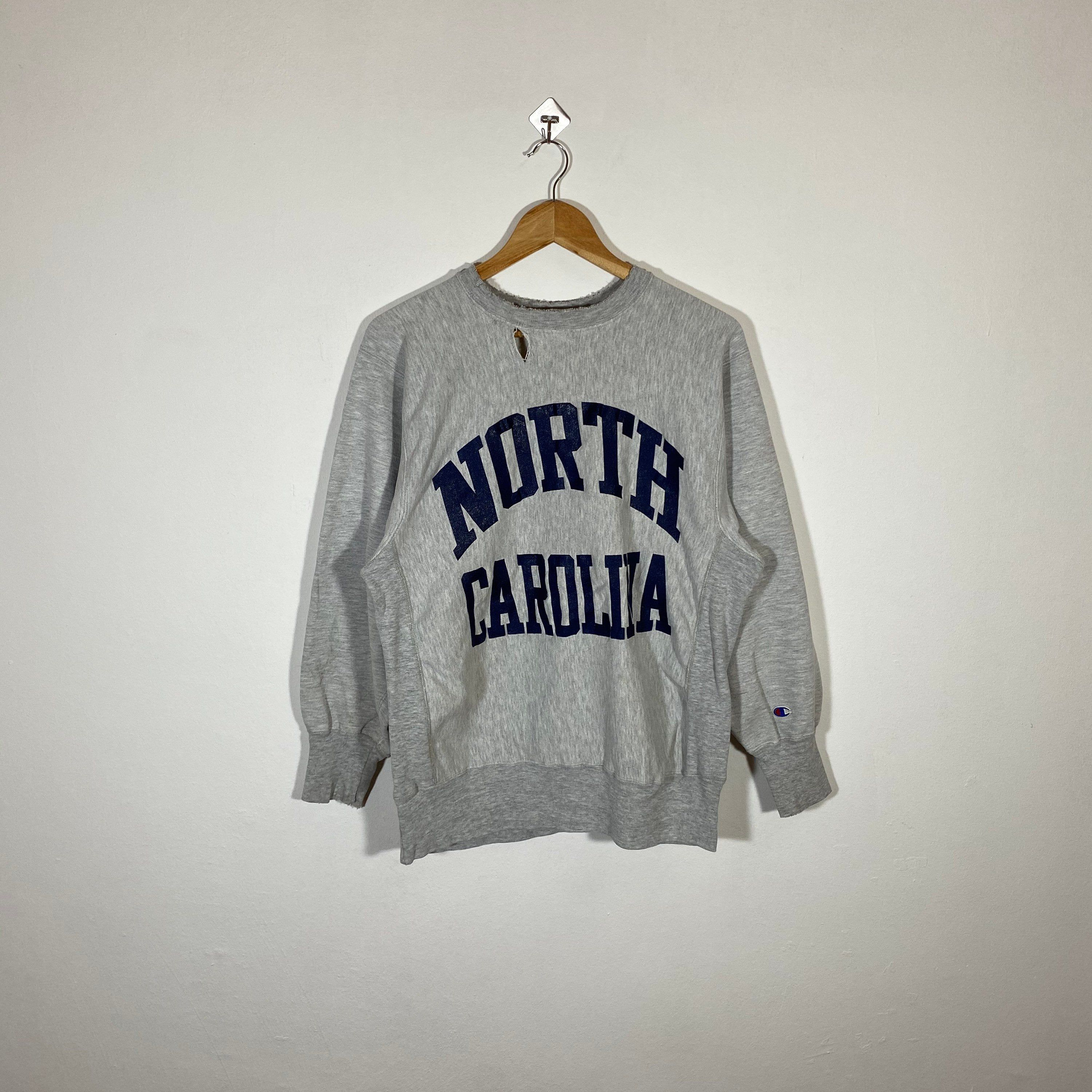 Excited To Share This Item From My Etsy Shop Vintage 90s North Carolina University By Champion Sweatshirt Ncu Vintage Sportswear Champion Sweatshirt Pullover [ 3000 x 3000 Pixel ]