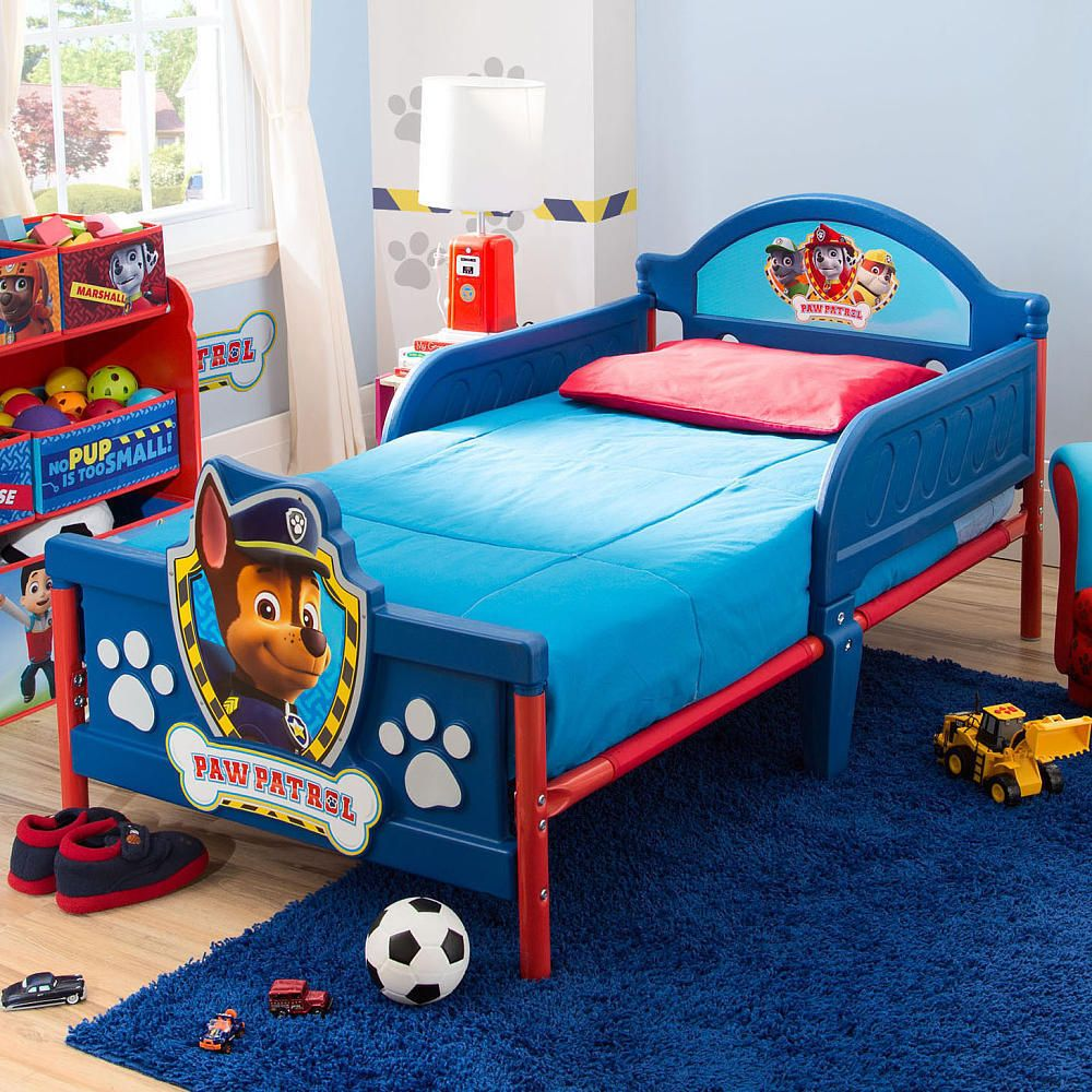 Nickelodeon Paw Patrol 3d Toddler Bed Nickelodeonpawpatrolnickjr