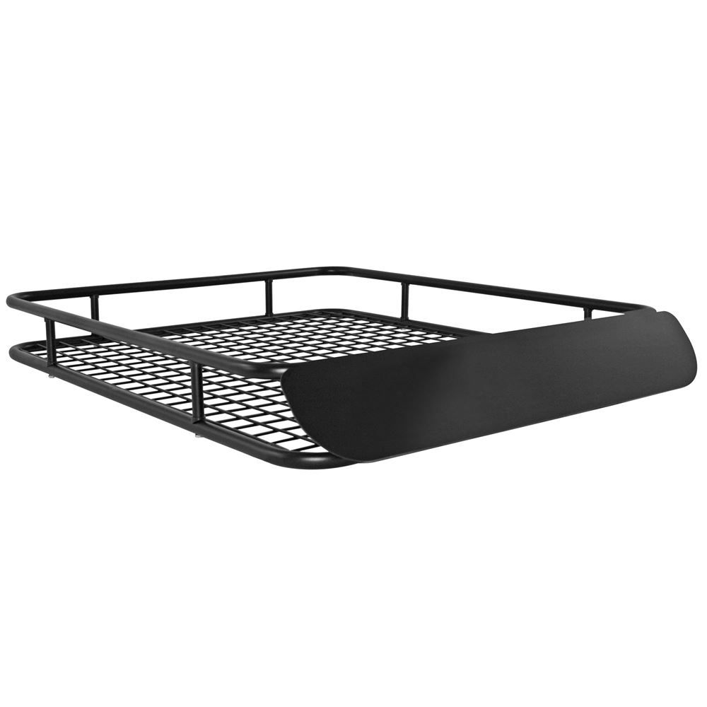 Apex Steel Roof Cargo Basket With Wind Fairing 48 1 2 In 2020 Fibreglass Roof Car Roof Racks Roofing