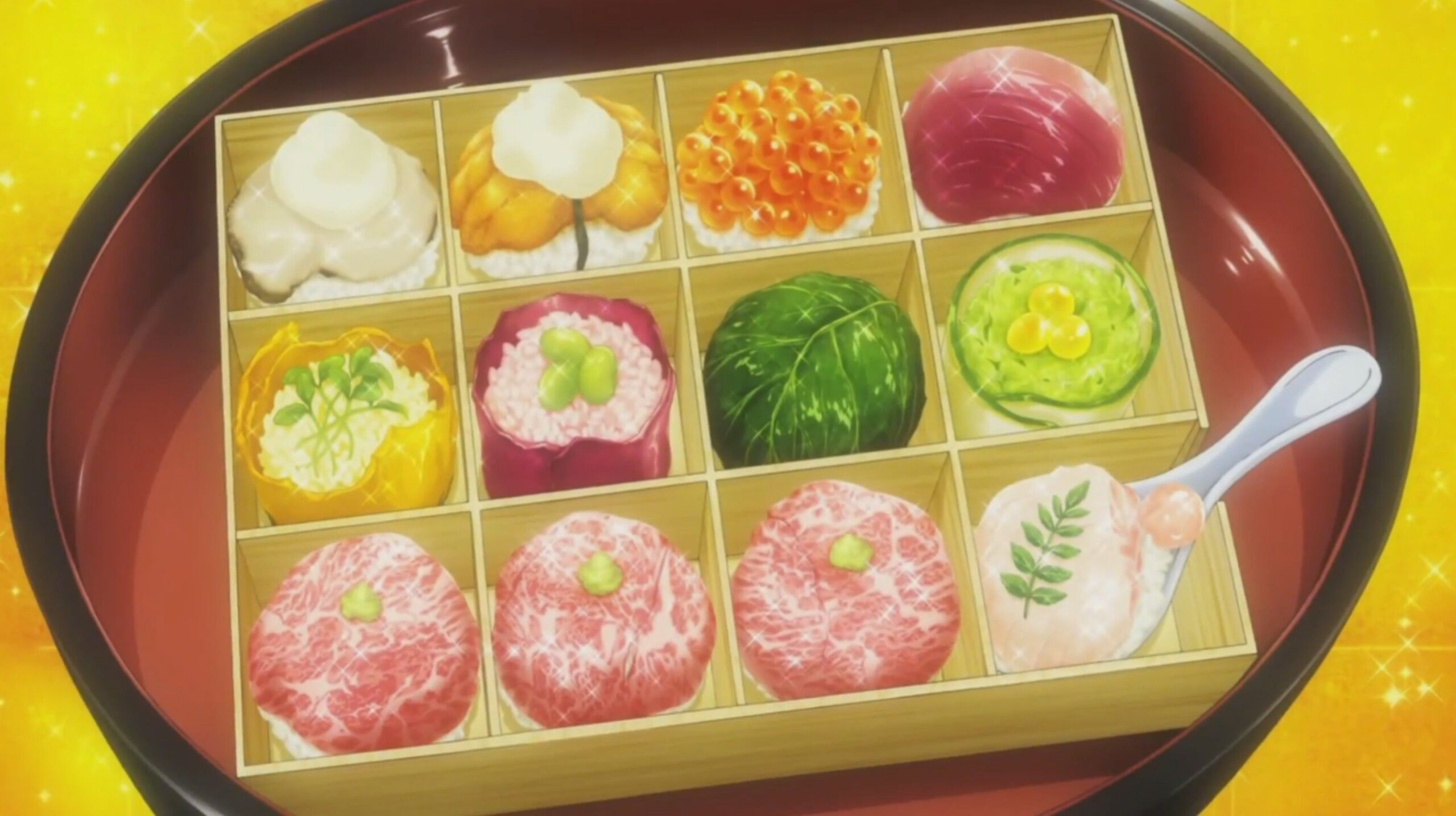 Pin by Myst on Bento Food wars, Food, Food illustrations