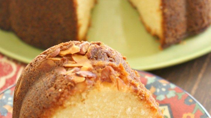 Amaretto bundt cake with bourbon soak recipe recipes