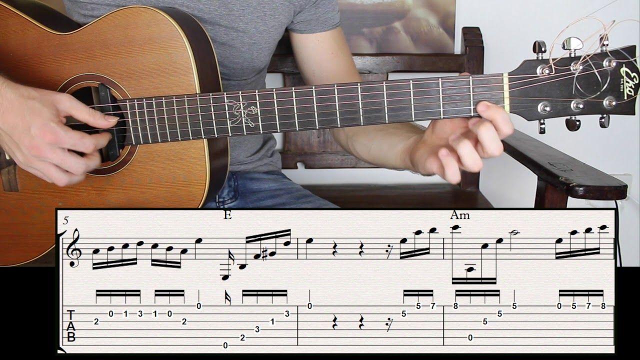 Captivating Spanish Guitar Intro Fingerstyle Guitar Lesson