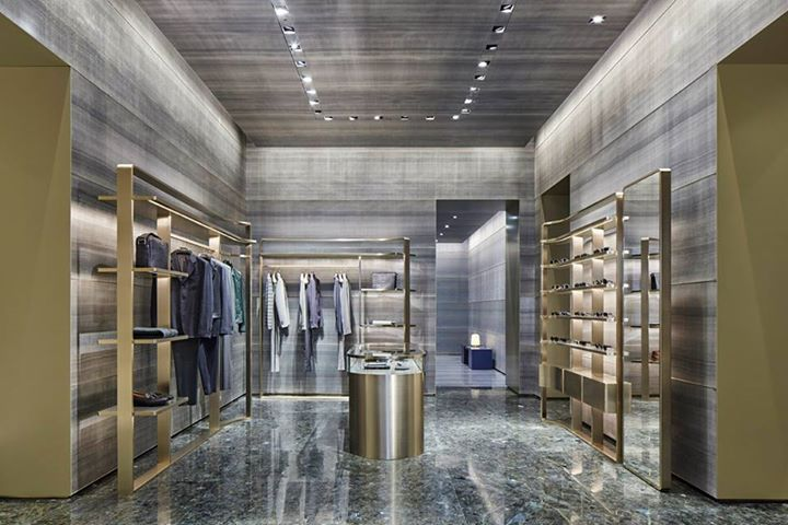 9c424c923 Giorgio Armani reopens flagship store in Milan on Via Montenapoleone ...