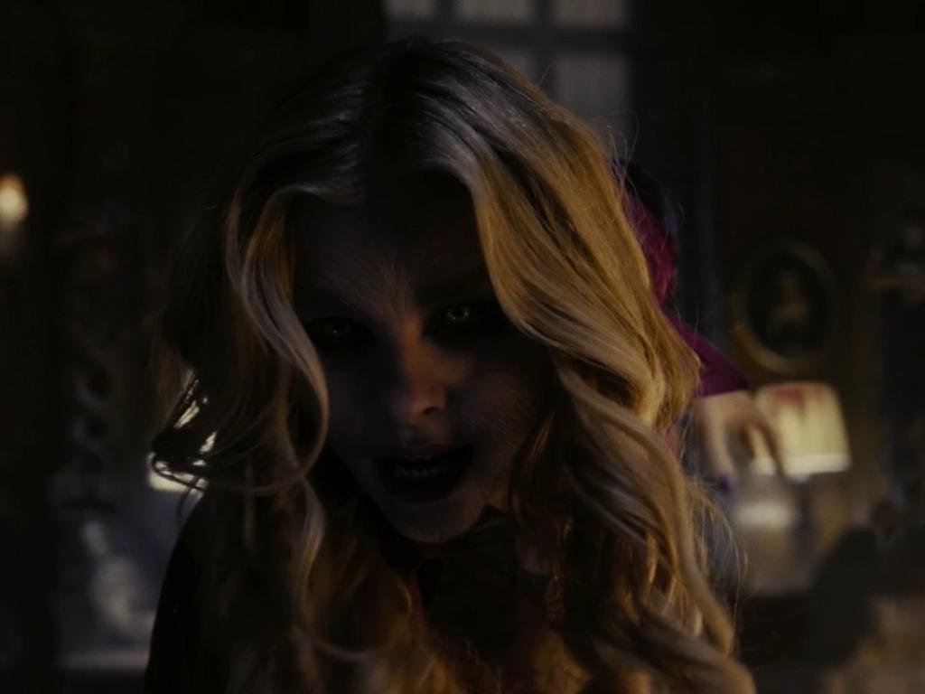 Chloë Grace Moretz as Carolyn Stoddard in Dark Shadows ...  Dark Shadows Movie Werewolf