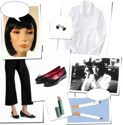 mrs mia wallace pulp fiction costume