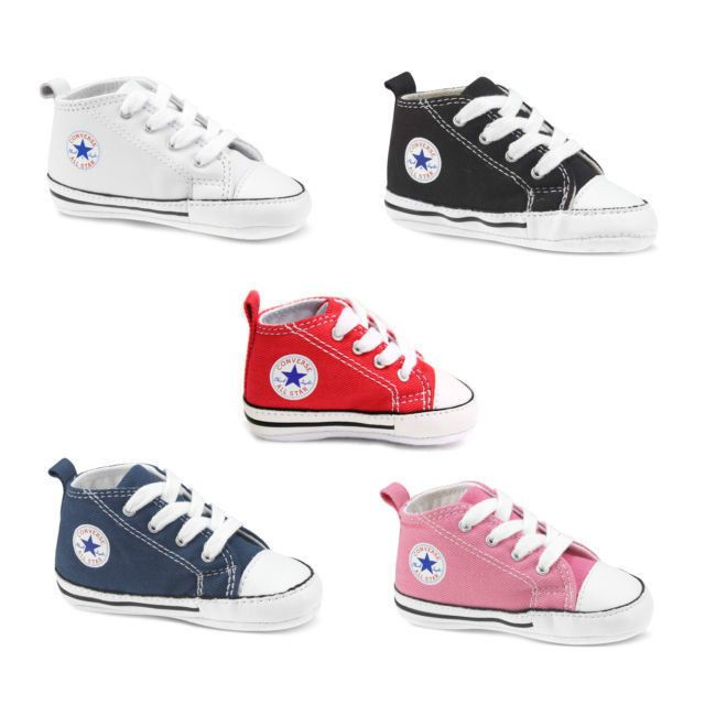 CONVERSE FIRST STAR BABY CRIB COLOR