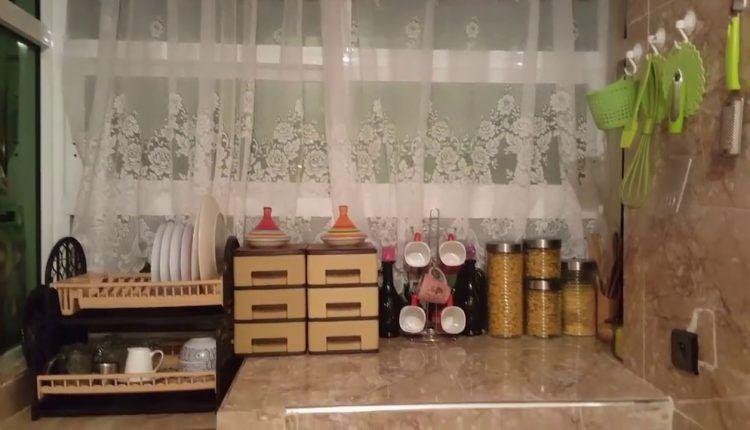هاكيفاش رتبت كوزينتي بطرق بسيطة واخا معنديش بلاكارات رجعات غزالة كتحمق Decor Home Decor Printed Shower Curtain
