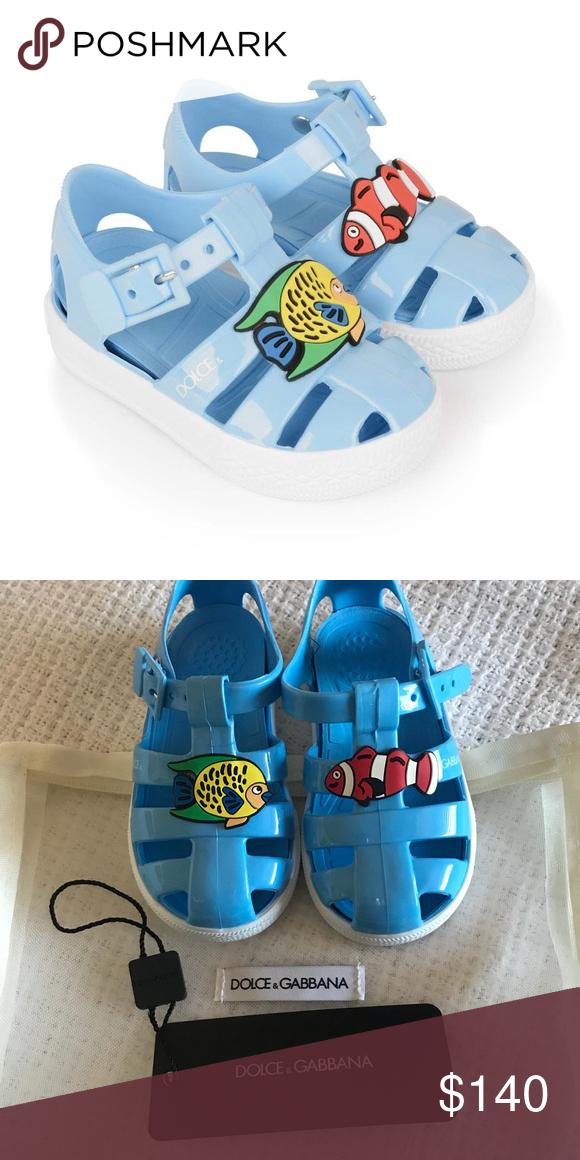 6ba1710af DOLCE   GABBANA blue fish jelly shoes DOLCE   GABBANA blue fish jelly shoes  Dolce   Gabbana Shoes Sandals   Flip Flops  jellyshoes