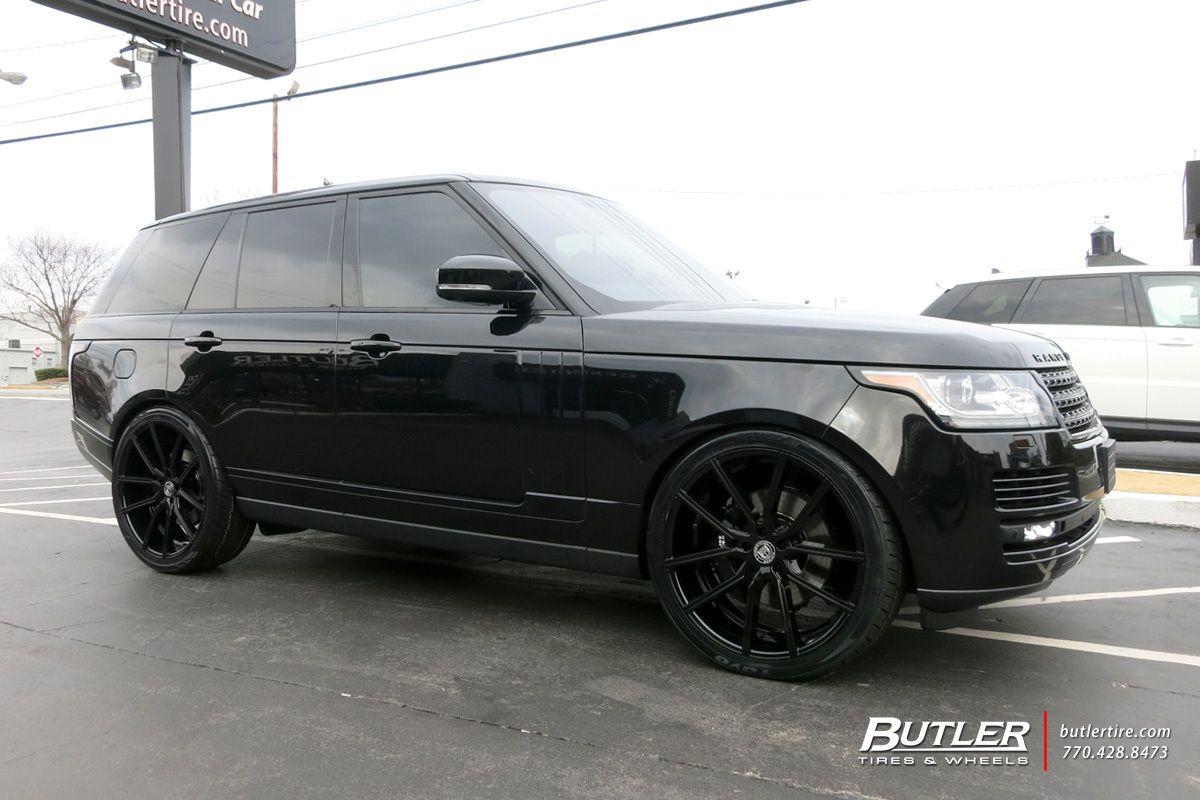 Range Rover Atlanta >> Land Rover Range Rover With 24in Lexani Gravity Wheels