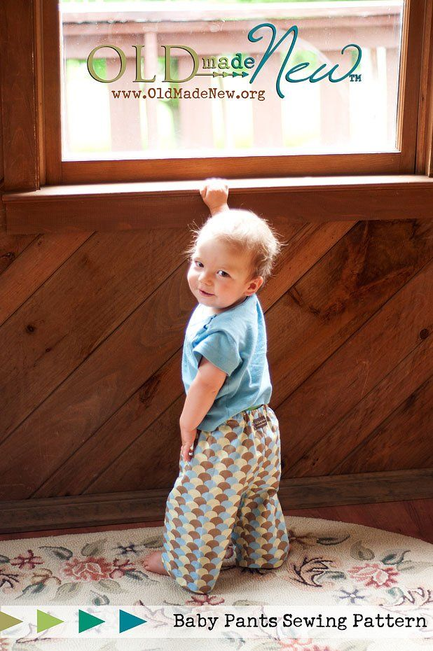 Free Baby Pants Pattern 12-18 months | Get Crafty | Pinterest | Baby ...