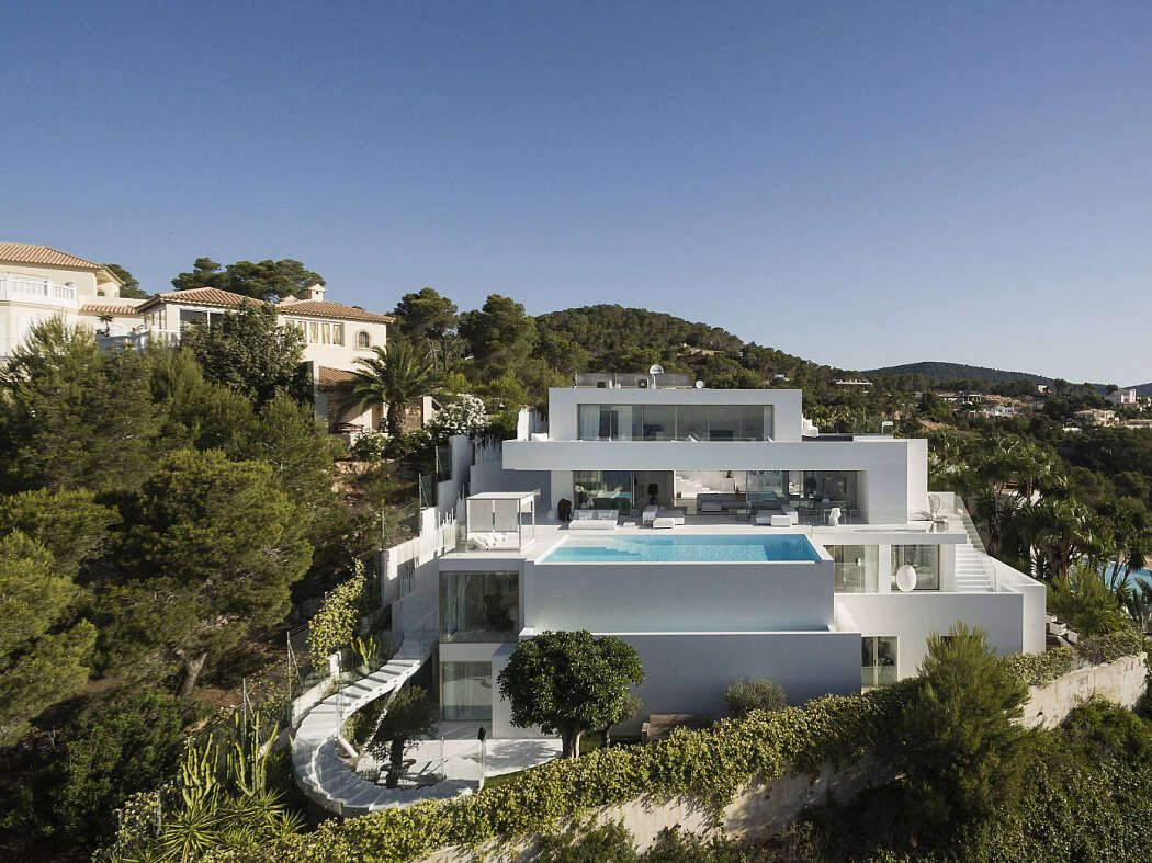 Ibiza Hills Residence By Metroarea Residential Architecture