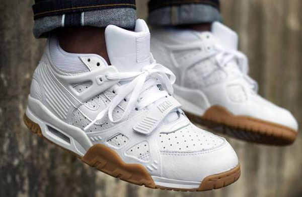 info for 2fac7 0b4bc Nike Air Trainer 3 White Gum aux pieds (3)