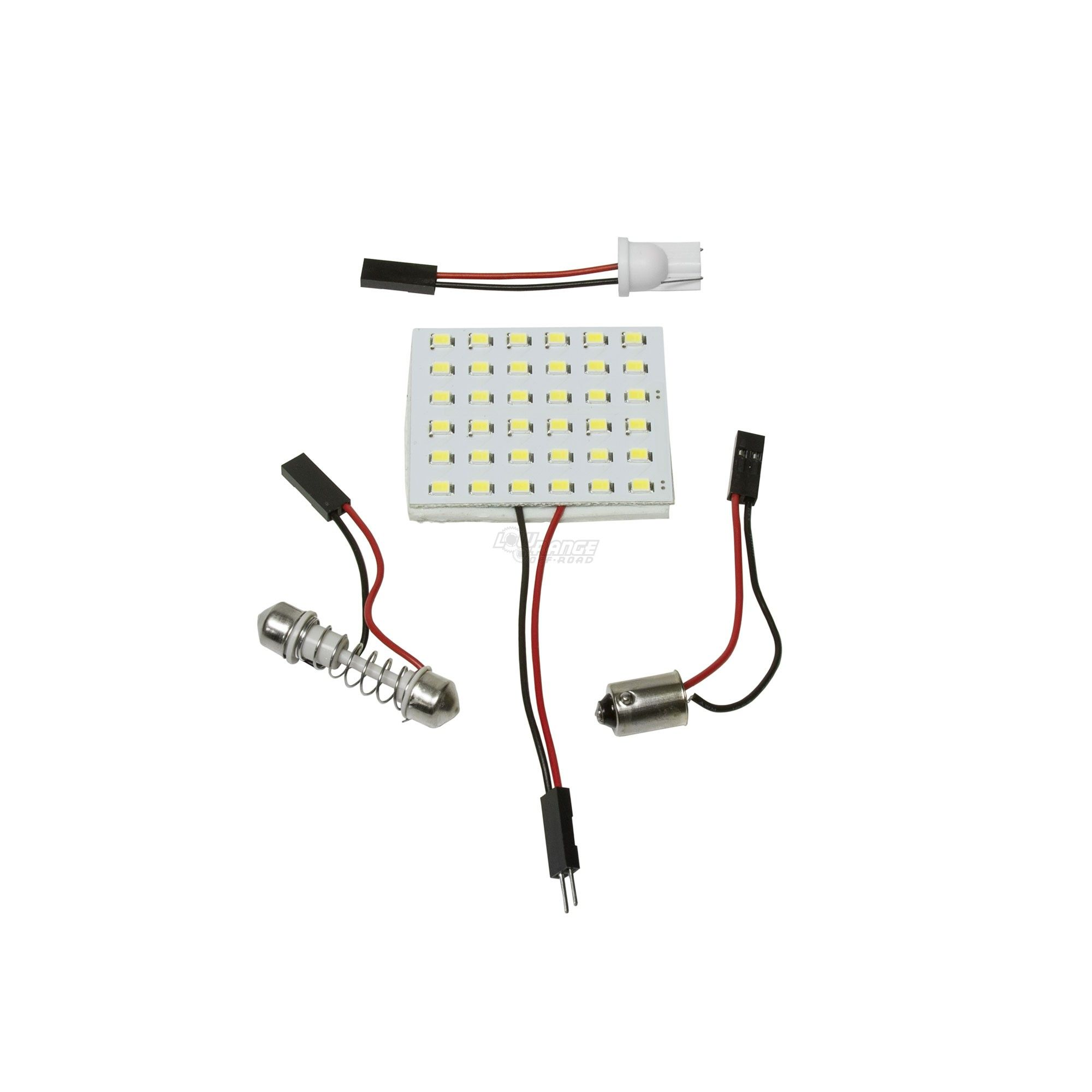 LED Dome Interior Light with Adapters for Suzuki and