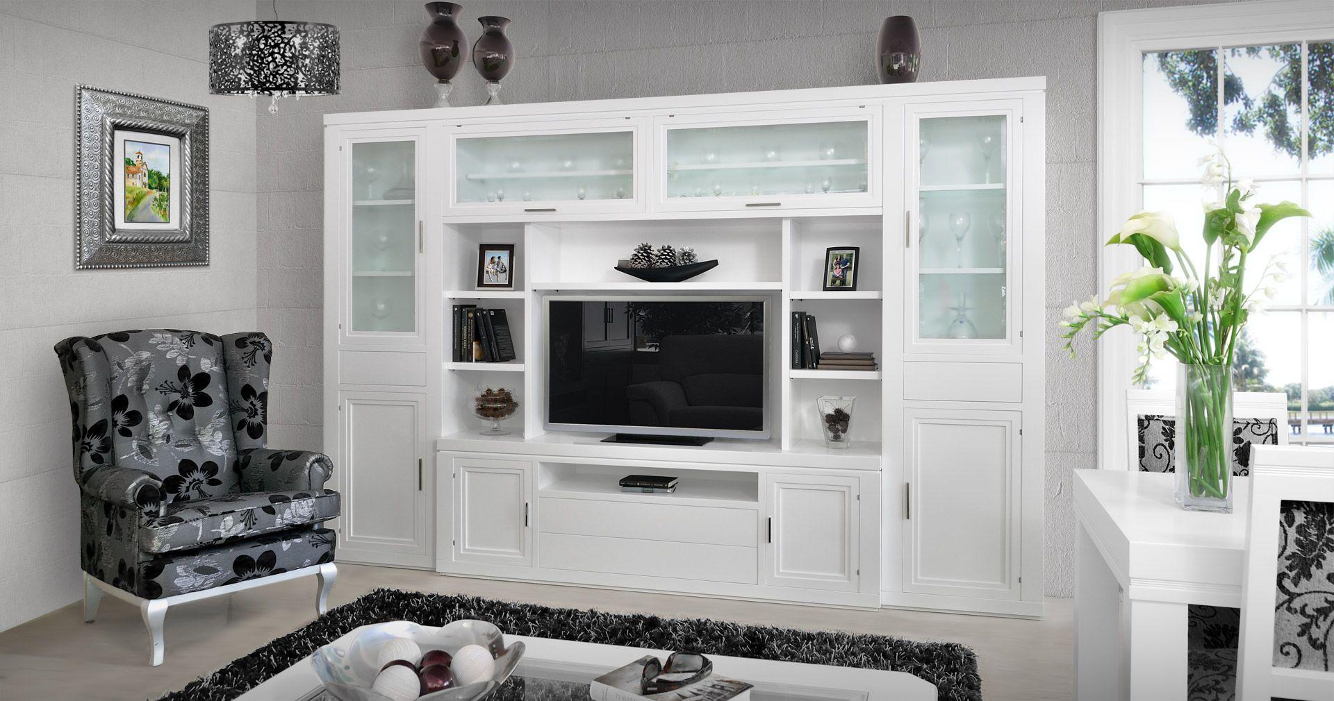 Resultado De Imagen De Boiserie Blanco Y Cerezo A Medida Mueble  # Muebles Boisserie