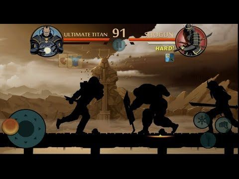 Shadow Fight 2 Gates Of Shadow Ultimate Titan Mode Youtube Titans New Shadow Install Game