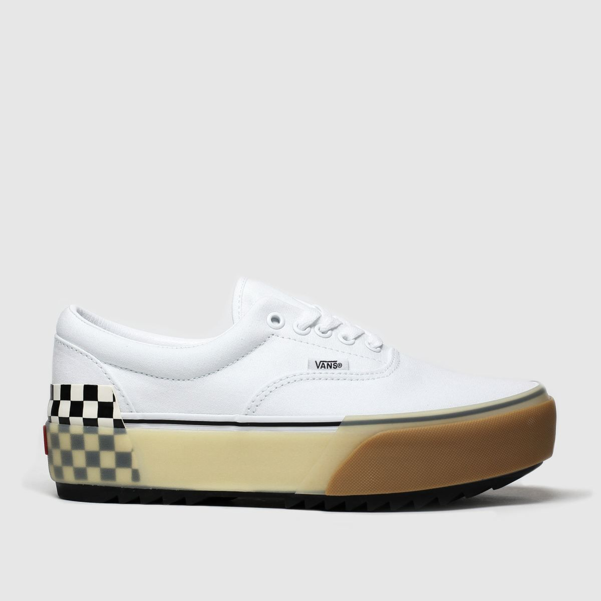 Stacked TrainersSchuh Era In Shoes Womens White Vans wOP0kn