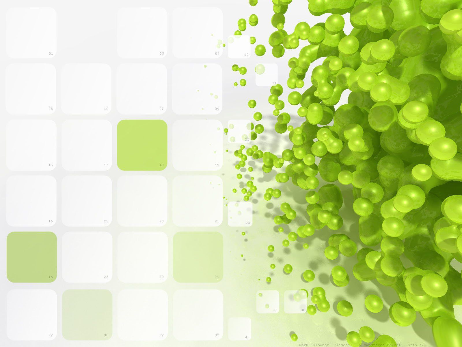 green powerpoint backgrounds