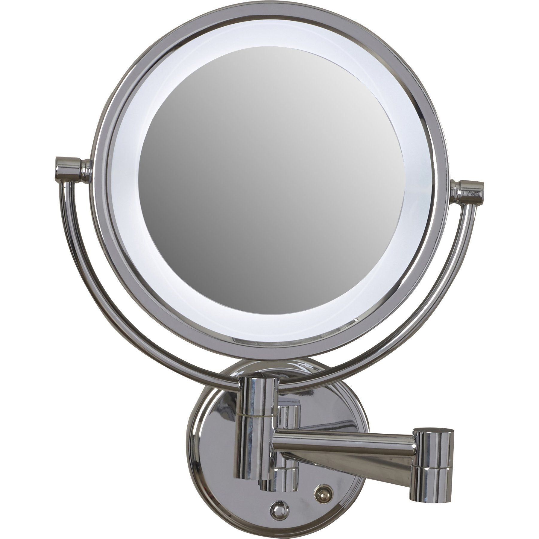 Customer Image Zoomed Makeup Mirror With Lights Shaving Mirror Mirror