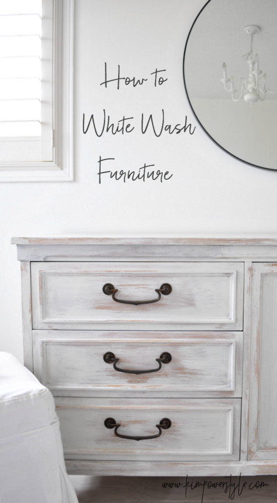 The Guest Room Makeover And White Washing Furniture In 2020 White Washed Furniture Painted Bedroom Furniture Furniture Makeover