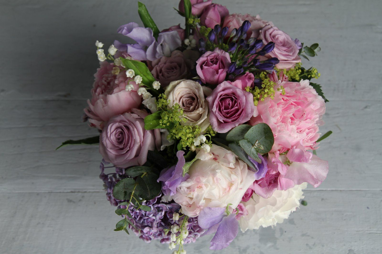 lilac lavender pink rose bouquet | gorgeous summer wedding bouquet in pinks and lavender blues i ve ...