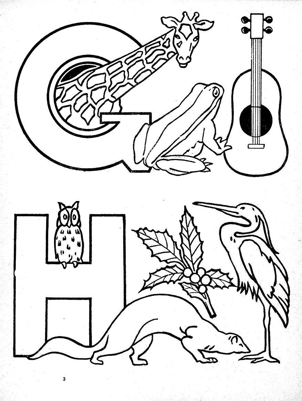 A B C  colorier dessins de Maréchaux