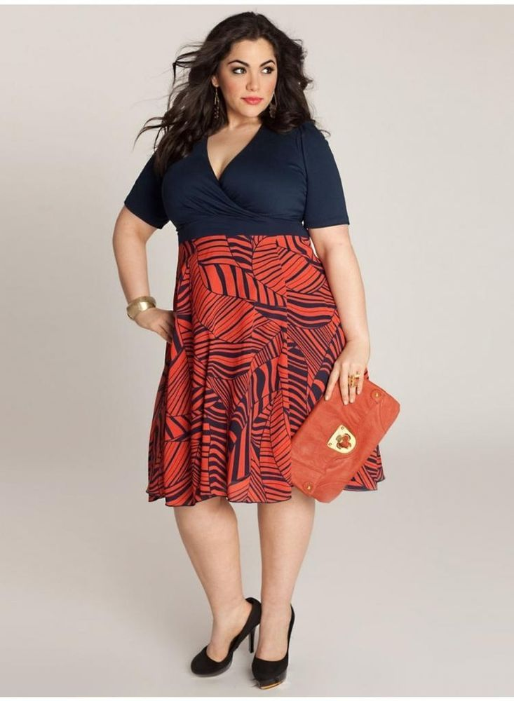 Next plus size red dress