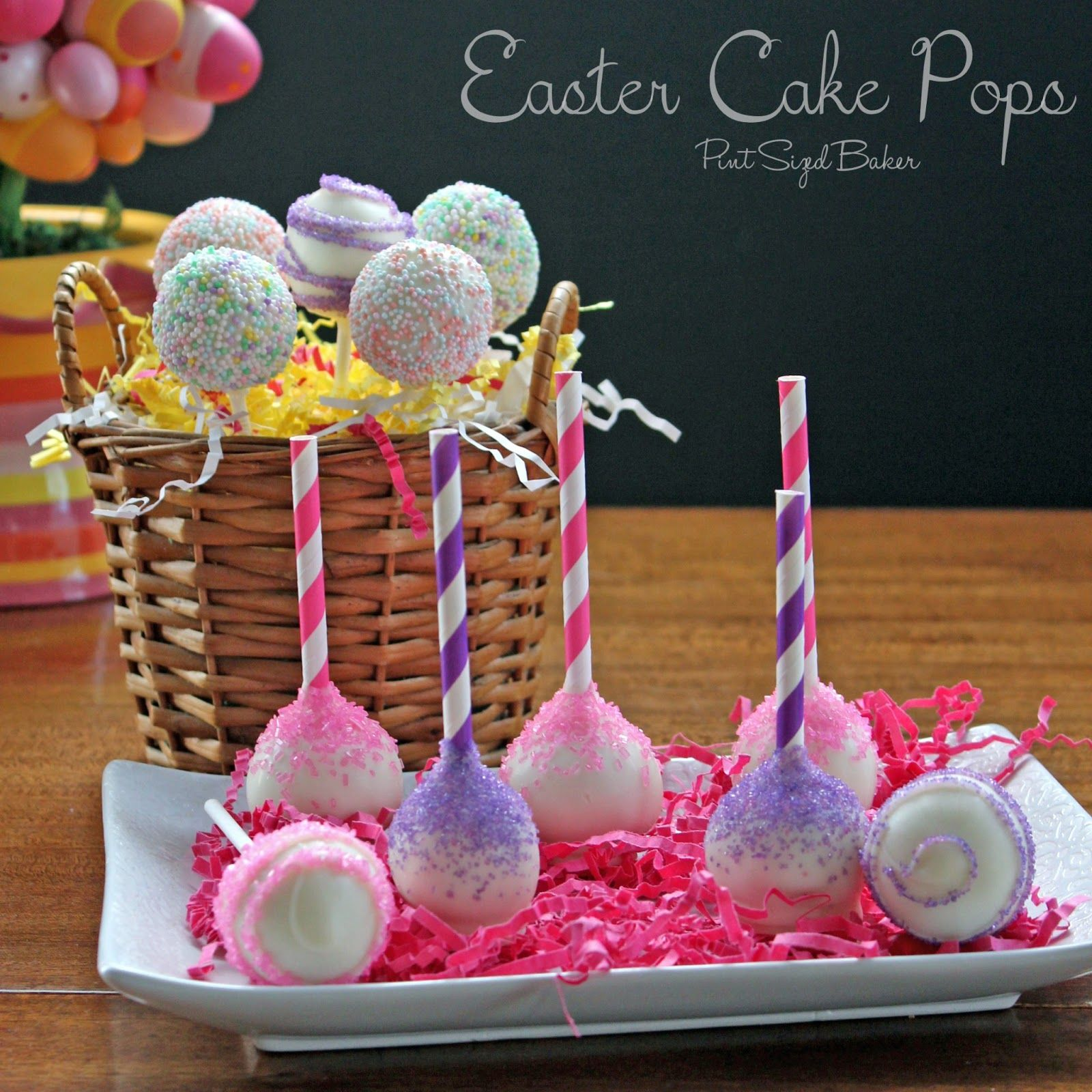 Pint Sized Baker: Cake Pops From Scratch