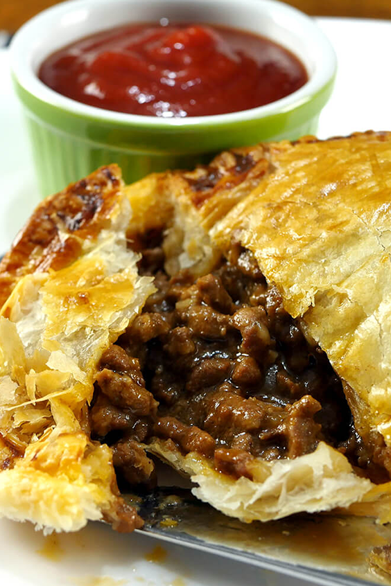 Slow Cooker Ground Beef Pie images