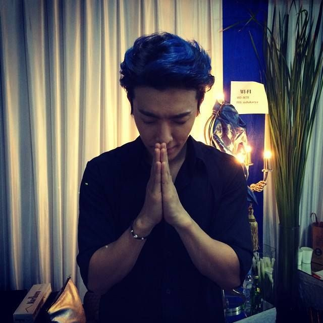 """230814 #Donghae Instagram & Twitter Update   Im sorry indonesian fans! I was so nervous i shouted """"malaysia"""" on stage!!!"""