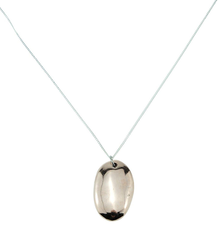 7th wedding anniversary solid copper pebble pendant 7th
