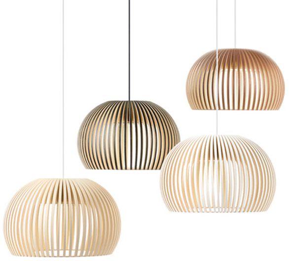 Lampade di legno by Secto Design Oy