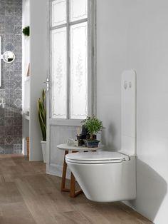 Des WC suspendus 100% design.
