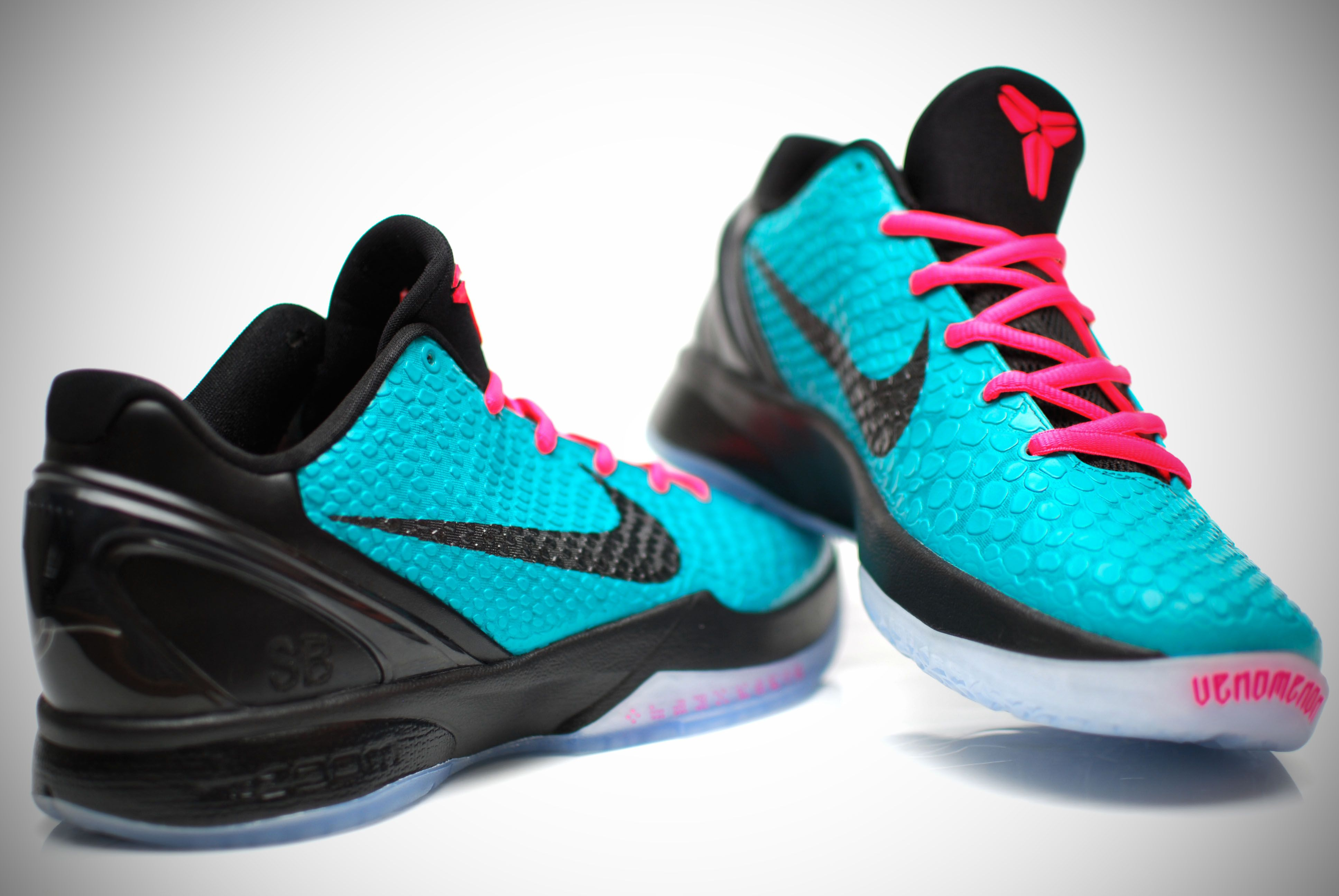 The Kobe S In South Beach Colors Nike Sneakers Shoes