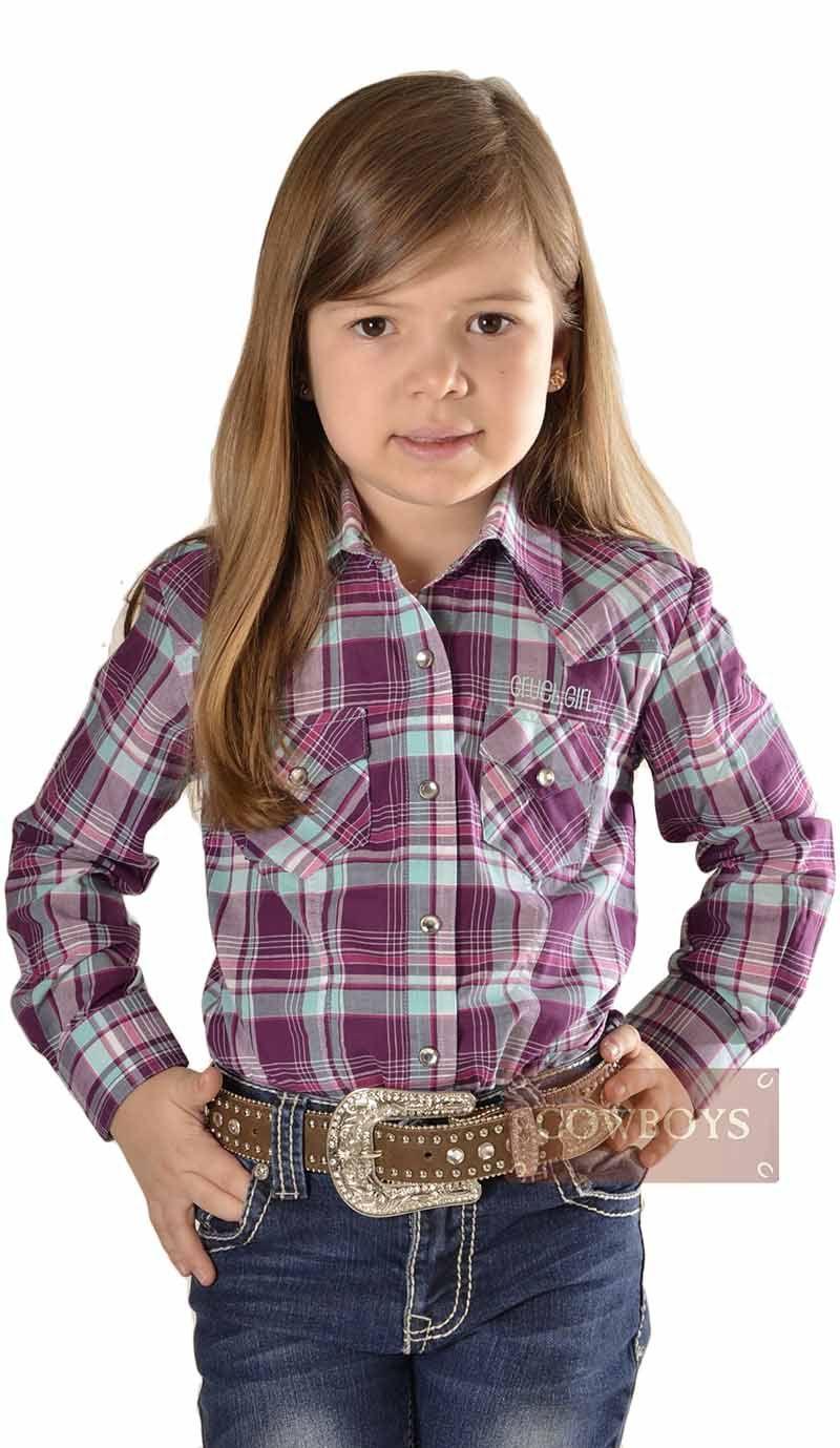 1e8d31e6c9 Camisa Infantil Manga Longa Xadrez Turquesa e Roxo Camisa Infantil xadrez  manga longa nas cores azul