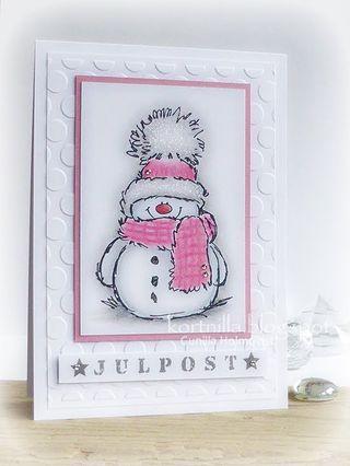 Snowy i rosa (Nillas pyssel och annat)