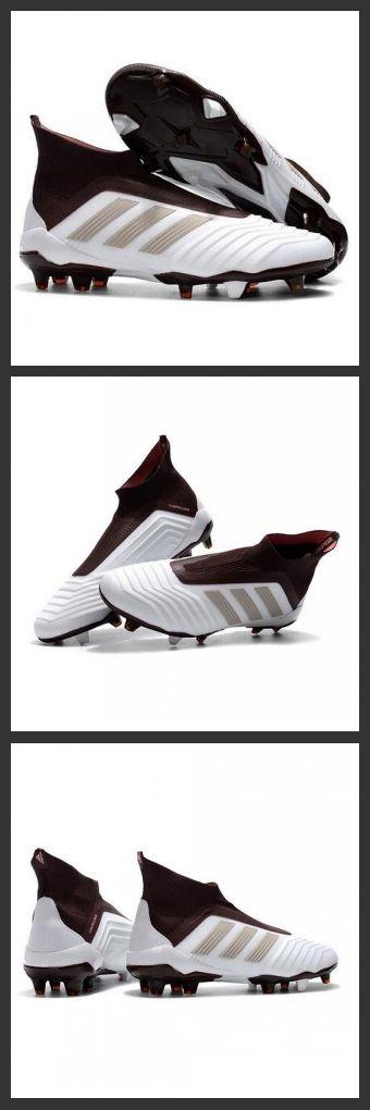 the latest 59200 8ccaf le scarpe da calcio adidas Predator 18+ FG Tacchetti da Calcio Bianco  Marrone
