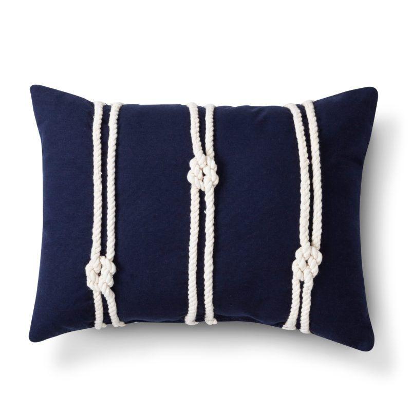 Photo of DIY: Nautical knots pillow