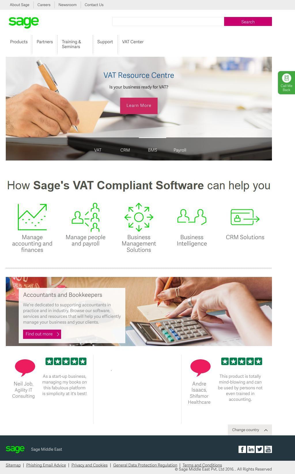 Sage Software Middle East Fz Llc It Distributors Dubai Www