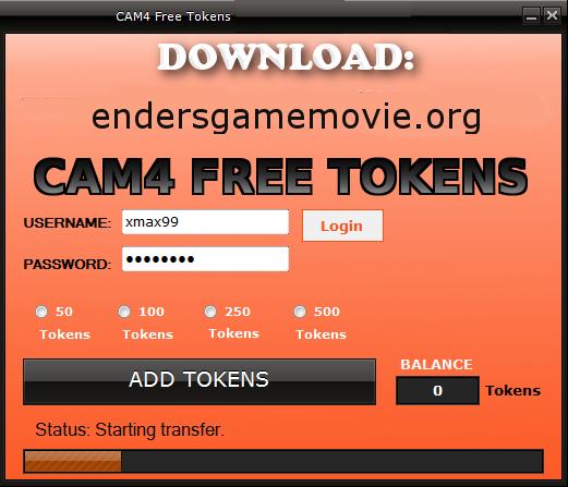 Cam4 Token Generator No Survey No Password