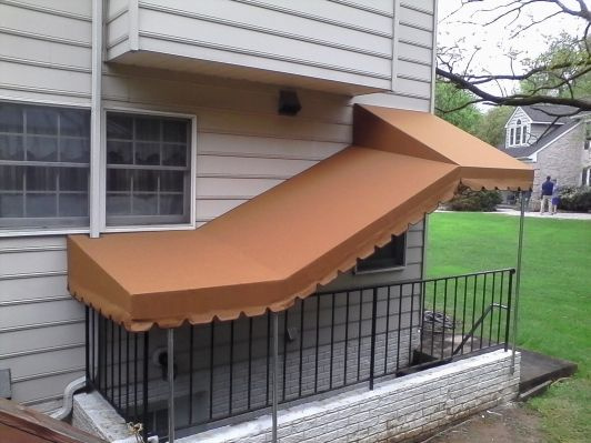 Basement Awnings Offer Protection From The Elements And Also Help