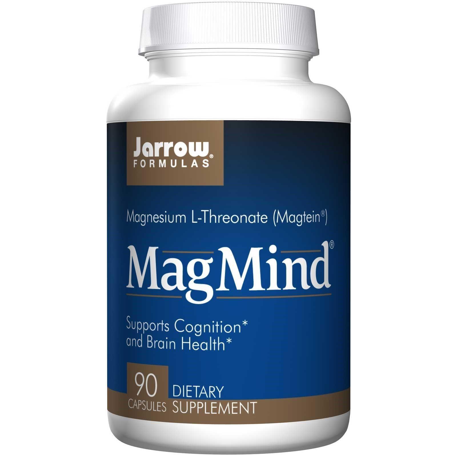 Jarrow Formulas Magmind 90 Capsules Cognition Brain Health
