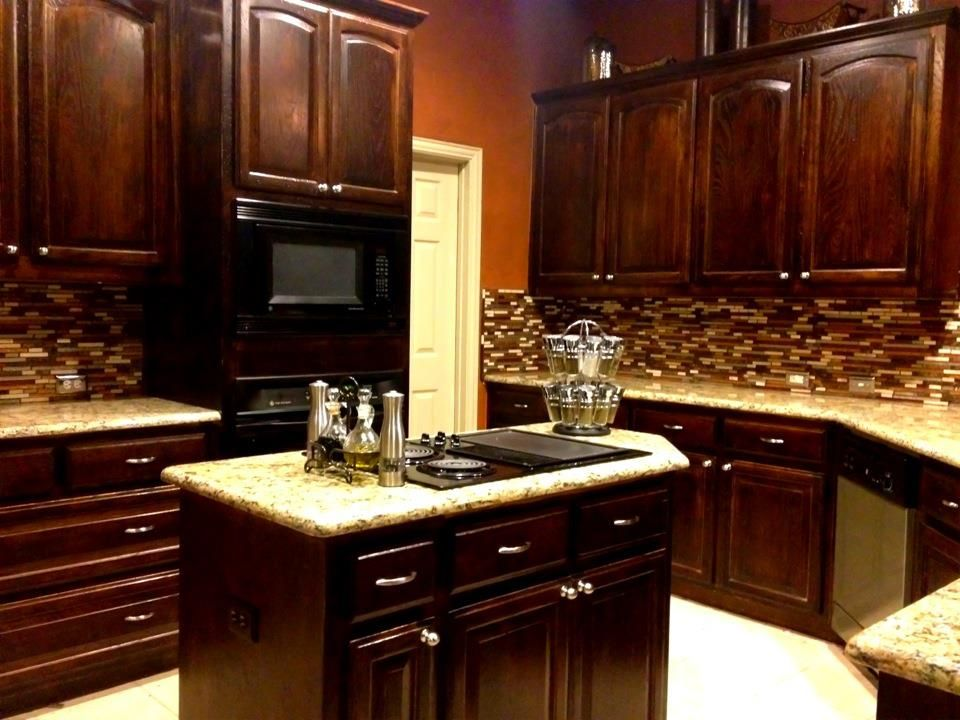 Charming New Venetian Gold Backsplash Ideas Part - 4: New Venetian Gold Granite With Bogata Backsplash