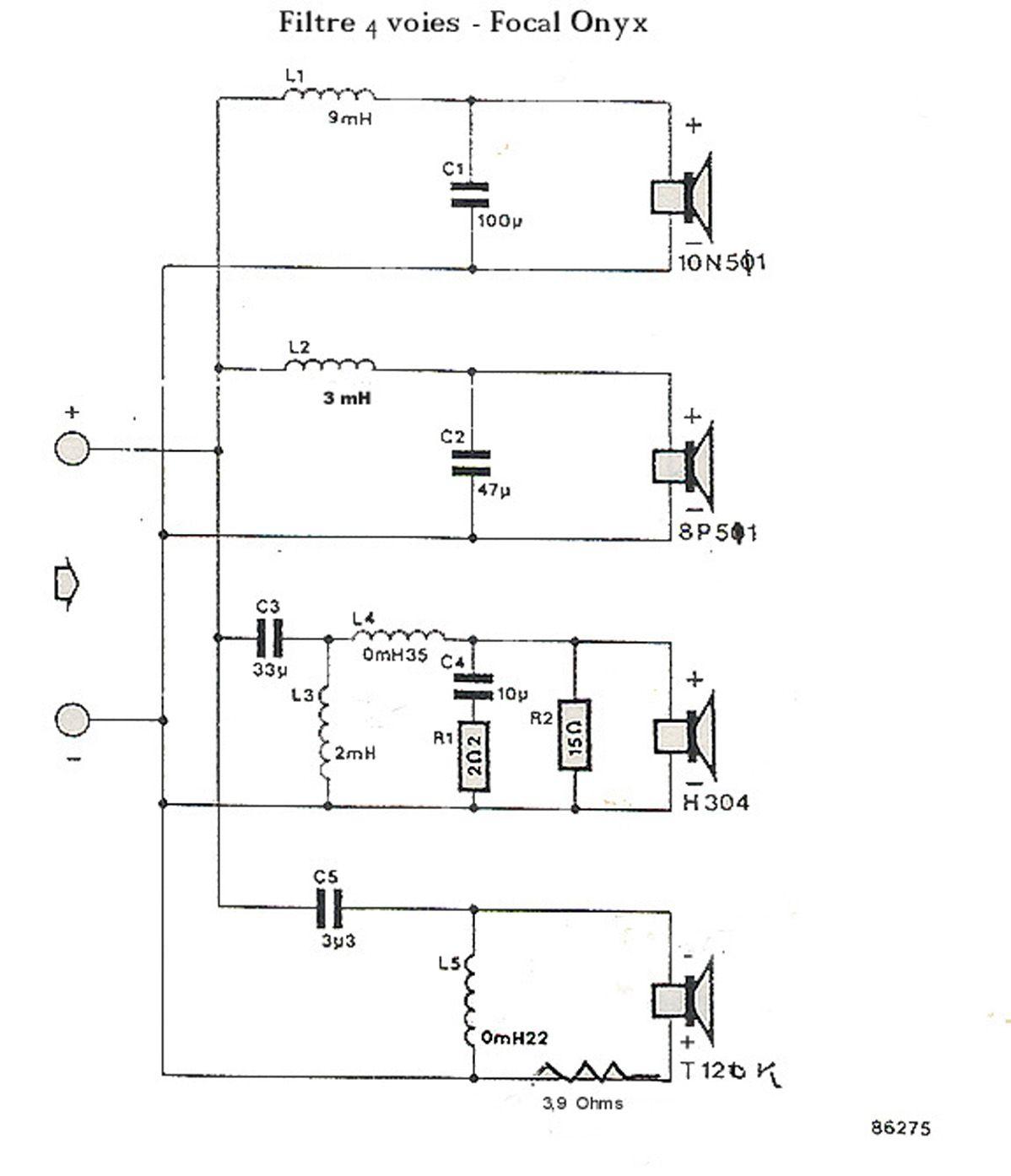Modif Filtre Hp Audio Pour Bi Cablage Forums De Abcelectronique Filtre Amplificateur Audio Bricolage Electronique