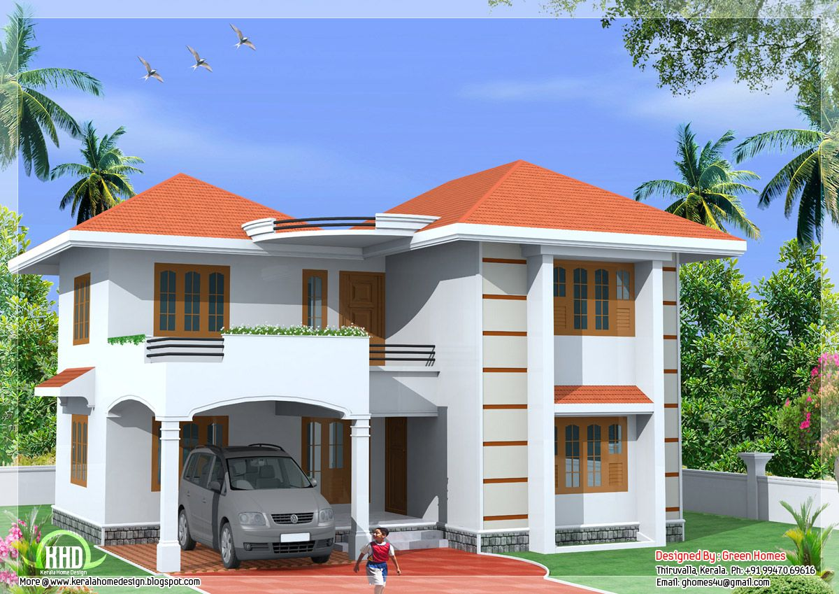 style bedroom home design green homes thiruvalla kerala ...
