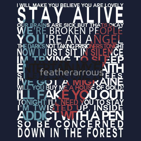 Twenty One Pilots Lyrics twenty one pilots lyrics - google search | lyrically driven