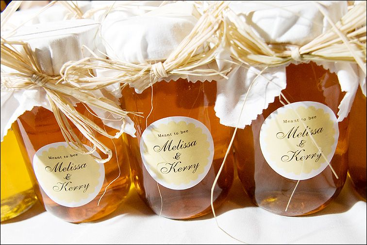 """Meant to Bee"" jars of local honey - Photo by Jason"