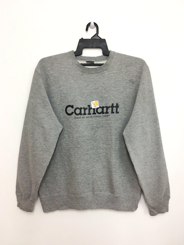 Vintage 90 S Carhartt Sweatshirt Jumper Spellout Medium Etsy Carhartt Sweatshirts Sweatshirts Trendy Sweatshirt [ 3000 x 2250 Pixel ]