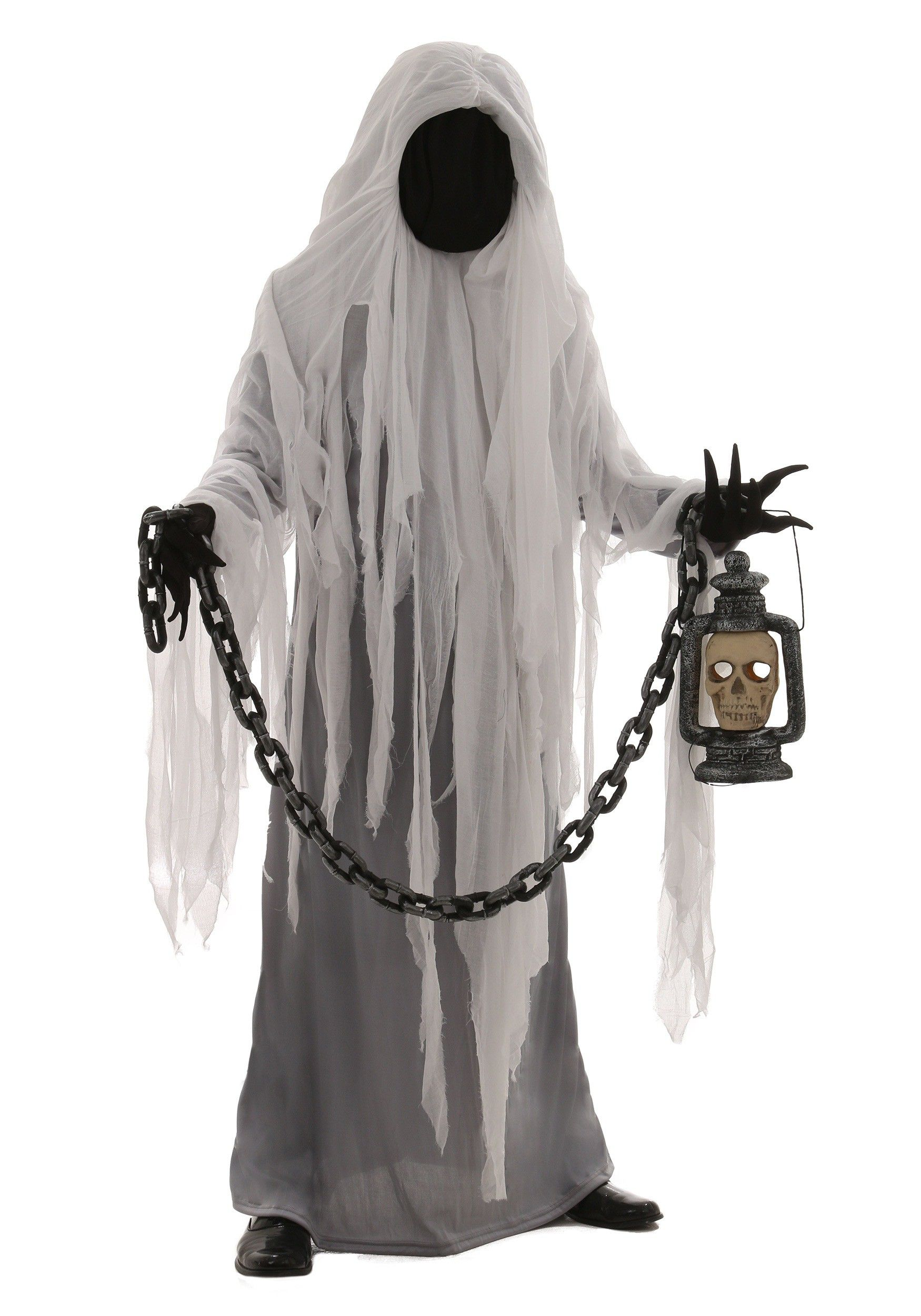 Krampus costume for sale - This Adult Spooky Ghost Costume Is The Type Of Look That Even Makes Real Ghosts Tremble In Fear