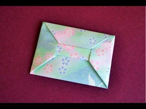 faltanleitung f r einen origami briefumschlag funktioniert auch mit papier im din a4 format. Black Bedroom Furniture Sets. Home Design Ideas