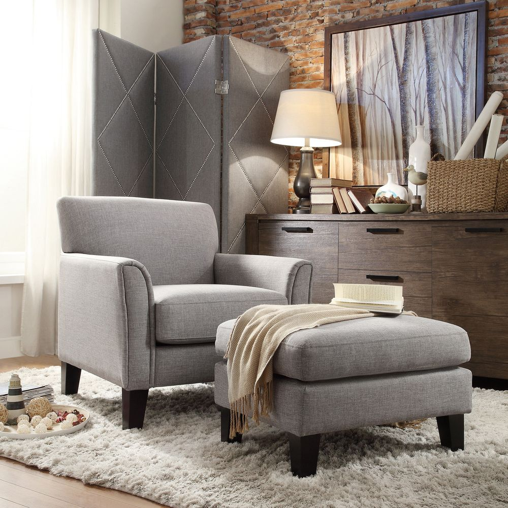 Living room ideas  INSPIRE Q Uptown Modern Accent Chair | Overstock  Shopping - Great Deals on INSPIRE Q
